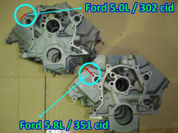 How to identify an engine or a cylinder head