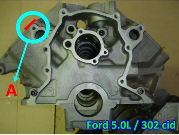 Ford 302 Engine Number Location